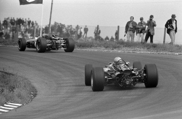 Chris Irwin, Lotus 25 BRM.