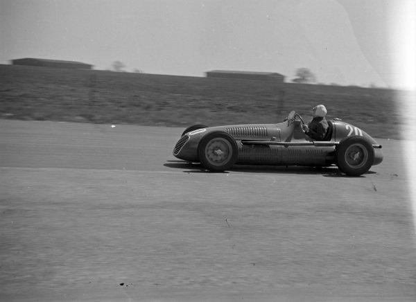 Emmanuel de Graffenried, Maserati 4CLT/48.