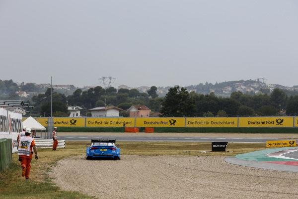 Robin Frijns, Audi Sport Team Abt Sportsline, Audi RS5 DTM in the gravel.