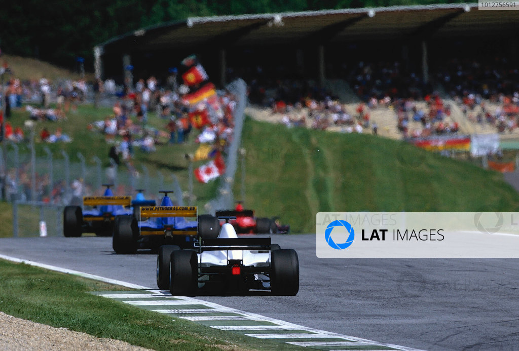 2002 F3000 ChampionshipA1-Ring, Austria. 11th May 2002.Race action.World Copyright: Clive Rose/LAT Photographicref: 35mm Image A20