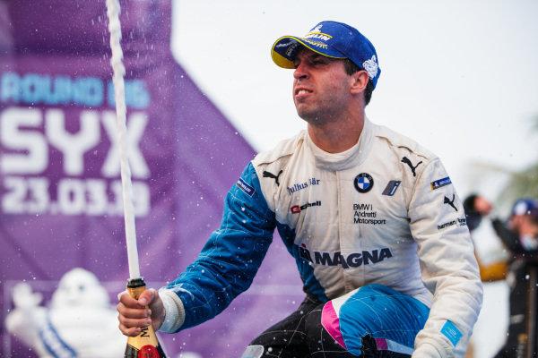 Antonio Felix da Costa (PRT), BMW I Andretti Motorsports, 3rd position, celebrates