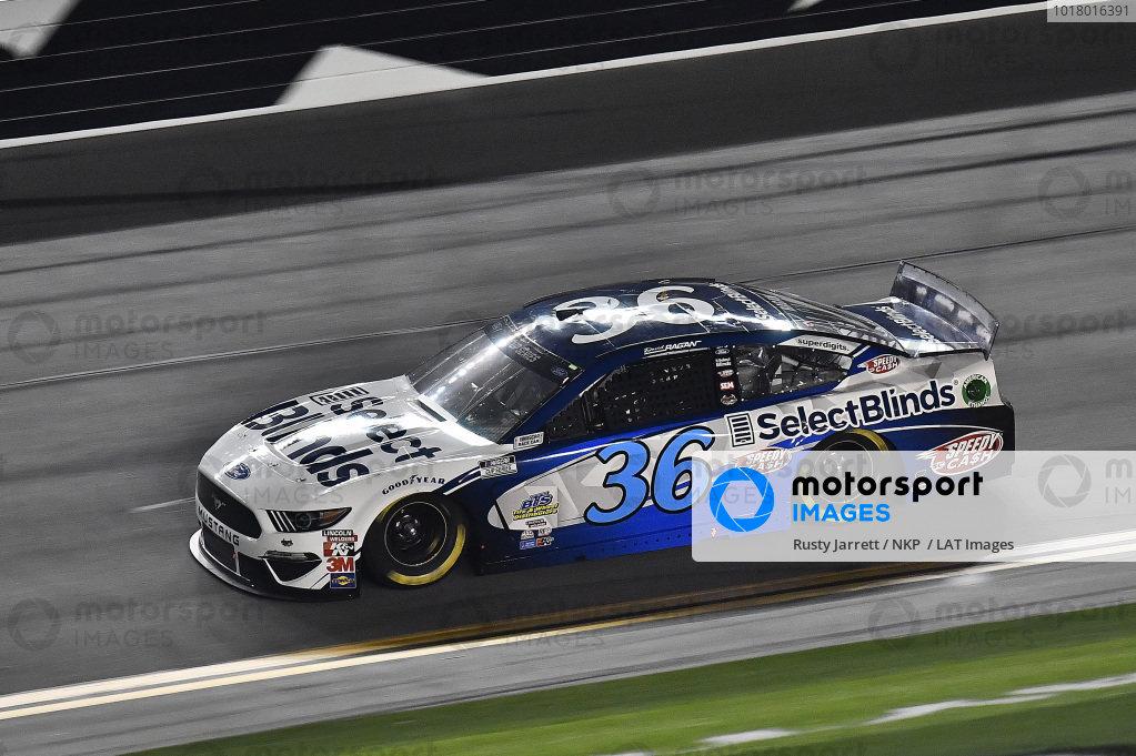 #36: David Ragan, Rick Ware Racing, Ford Mustang Select Blinds