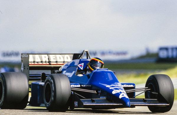 Stefan Bellof, Tyrrell 014 Renault.