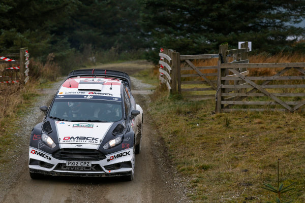2016 FIA World Rally Championship, Round 13, Wales Rally GB 2016 October 27 - 30, 2016 Ott Tanak, Ford, action  Worldwide Copyright: McKlein/LAT