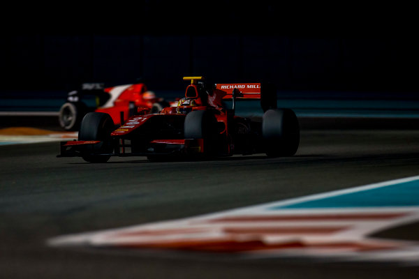2016 GP2 Series Test 3 Yas Marina Circuit, Abu Dhabi, United Arab Emirates. Friday 2 December 2016. Charles Leclerc (MON, PREMA Racing)  Photo: Zak Mauger/GP2 Series Media Service. ref: Digital Image _L0U4760