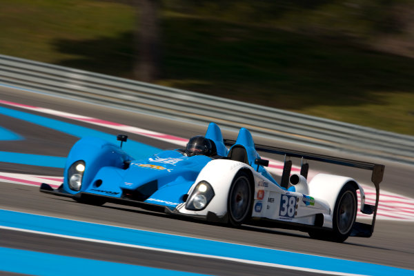 Circuit Paul Ricard, France. 8th March 2009. Julien Schell / Philippe Thirion, (Pegasus Racing) Courage Oreca LC75 - AER. Action. World Copyright: Drew Gibson/LAT Photographic.ref: Digital Image _Y2Z1851