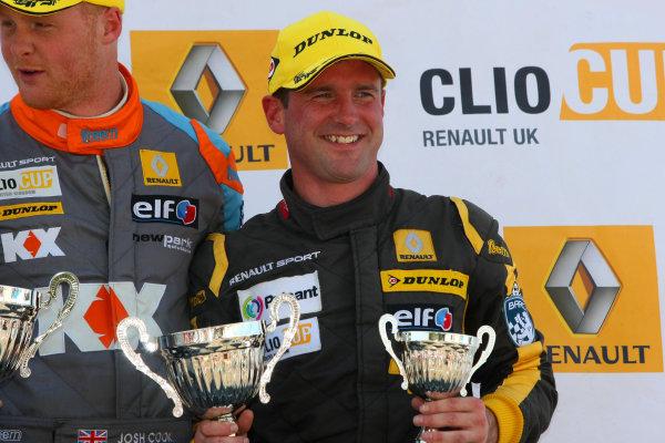 2014 Renault Clio Cup, Snetterton, Norfolk. 1st - 3rd August 2014. Paul Rivett (GBR) WDE Motorsport Renault Clio Cup. World Copyright: Ebrey / LAT Photographic.