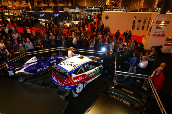 NEC, Birmingham. 13th January 2011.Ford WRC launch their new car.World Copyright: Malcolm Griffiths/LAT Photographicref: Digital Image IMG_6434
