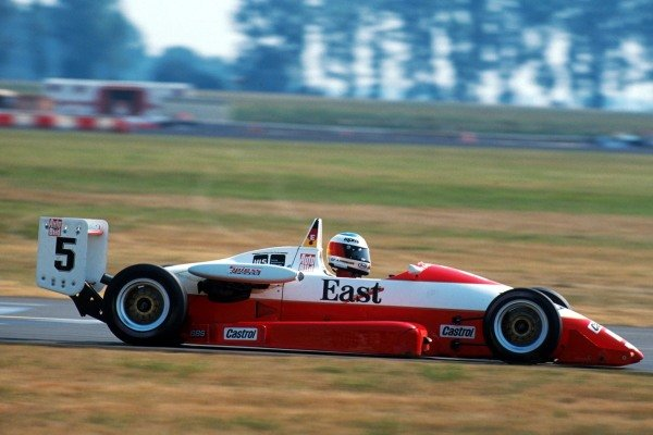 Michael Schumacher (GER) was winner of the 1990 Championship.  German Formula Three Championship, Diepholz, 5 August 1990.