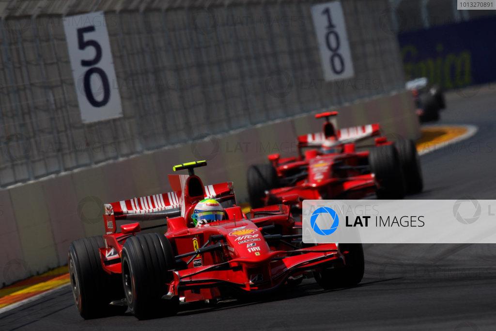 2008 European Grand Prix - Sunday Race