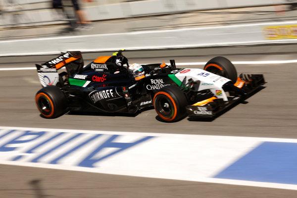 Circuit de Catalunya, Barcelona, Spain. Wednesday 14 May 2014. Daniel Juncadella, Force India VJM07 Mercedes. World Copyright: Sam Bloxham/LAT Photographic. ref: Digital Image _SBL0451
