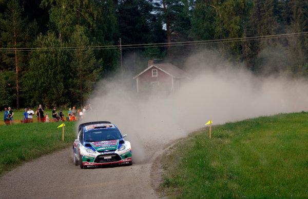 Round 8, Rally Finland, 28th - 30th July 2011Mikko Hirvonen, Ford, ActionWorldwide Copyright: LAT/McKlein