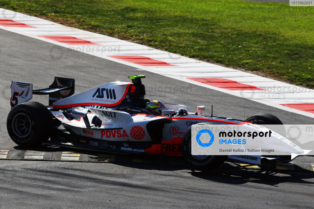 Pastor Maldonado (VEN) Rapax. GP2 Series, Rd 9, Race 1, Monza, Italy, Saturday 11 September 2010.