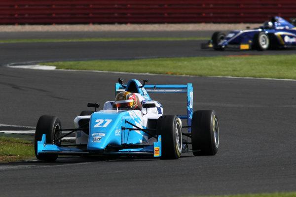 2017 BRDC British Formula 3 Championship,  Silverstone, 11th-12th June 2017, Callan O'Keeffe (RSA) Douglas Motorsport BRDC F3. World copyright. JEP/LAT Images