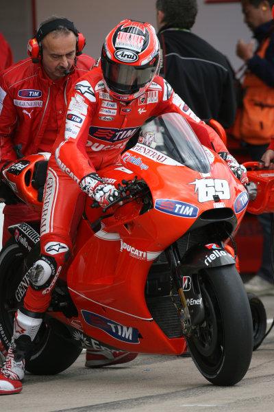 Great Britain Silverstone 18-20 June 2010Nicky Hayden Ducati Marlboro Team
