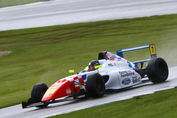 2016 MSA Formula Donington Park, 16th-17th April 2016, Alex Quinn (GBR) Fortec MSA Formula  World copyright. Jakob Ebrey/LAT Photographic