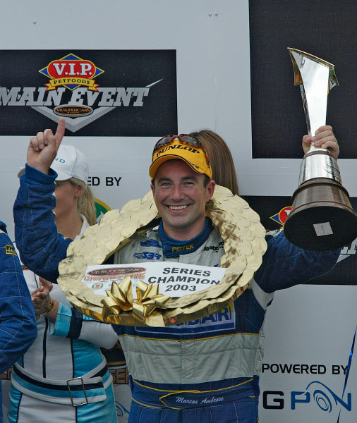 Australian V8 Supercars, Round 13, Eastern Creek, Sydney. 30th Nov 2003.