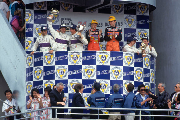 1991 Le Mans 24 hours.