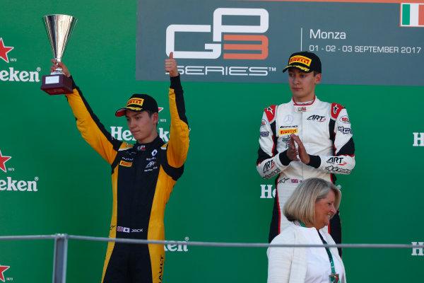2017 GP3 Series Round 6.  Autodromo Nazionale di Monza, Monza, Italy. Sunday 3 September 2017. Jack Aitken (GBR, ART Grand Prix).  Photo: Sam Bloxham/GP3 Series Media Service. ref: Digital Image _W6I4480