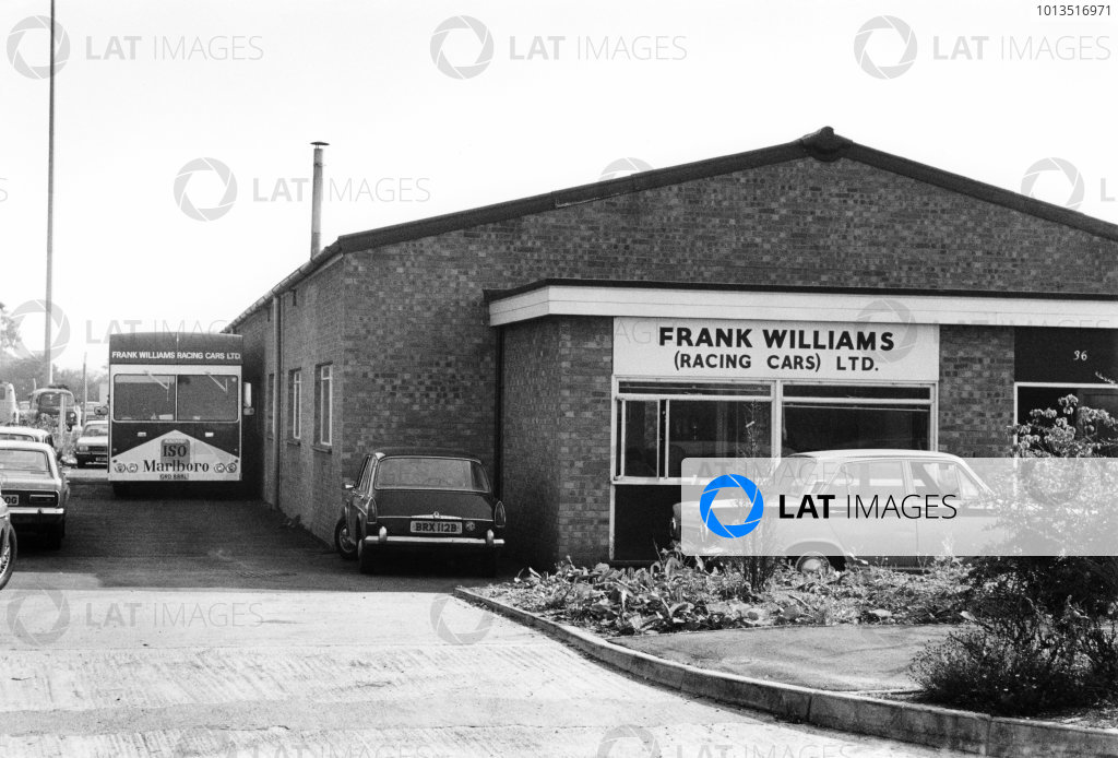 Frank Williams (Racing Cars) Ltd Factory