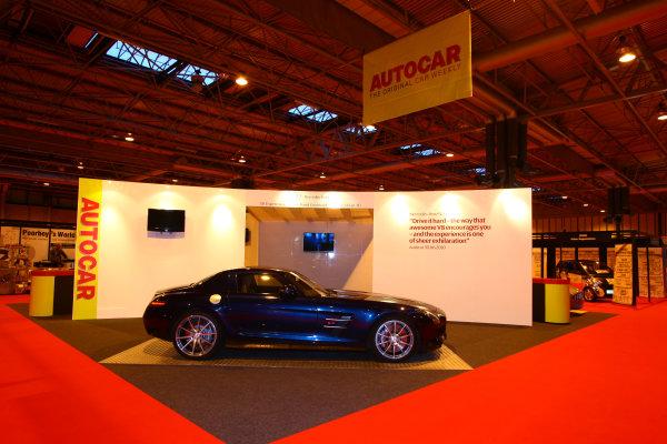NEC, Birmingham. 13th January 2011.The Autocar stand.World Copyright: Malcolm Griffiths/LAT Photographicref: Digital Image IMG_6269