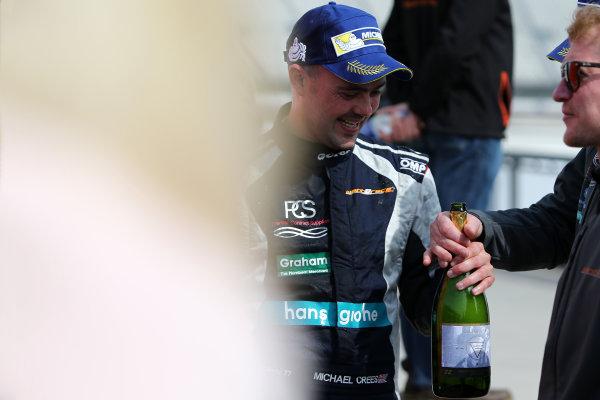 2017 Ginetta GRDC Championship Rockingham, England. 29th-30th April 2017, Michael Crees Ginetta G40 World copyright. JEP/LAT Images