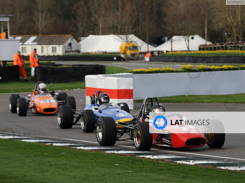 2017 75th Members Meeting Goodwood Estate, West Sussex,England 18th - 19th March 2017 Derek Bell Cup James Claridge Tecno World Copyright : Jeff Bloxham/LAT Images Ref : Digital Image