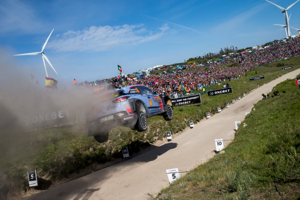 2017 FIA World Rally Championship, Round 06, Rally Portugal, May 18 - 21 2017, Dani Sordo, Hyundai, action, Worldwide Copyright: McKlein/LAT
