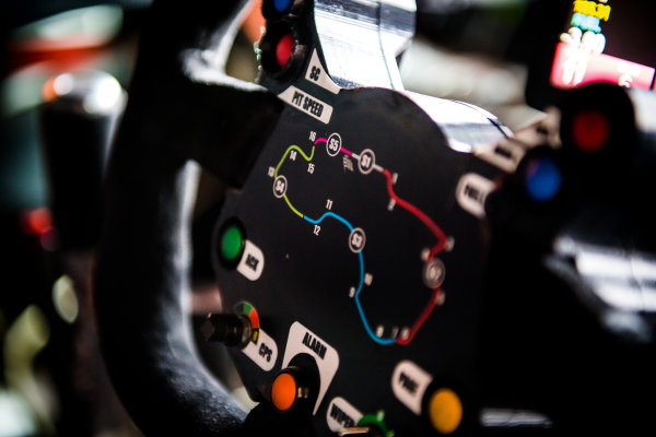2017 Supercars Championship, Australian Grand Prix Support Race, Albert Park, Victoria, Australia. Thursday March 23rd to Sunday March 26th 2017. Steering wheel of James Courtney driver of the #22 Mobil 1 HSV Racing Holden Commodore VF. World Copyright: Daniel Kalisz/LAT Images Ref: Digital Image 220217_VASCAUSGP_DKIMG_0038.JPG