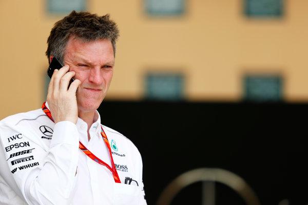 Bahrain International Circuit, Sakhir, Bahrain.  Thursday 13 April 2017. James Allison, Technical Director, Mercedes AMG. World Copyright: Sam Bloxham/LAT Images ref: Digital Image _W6I7888