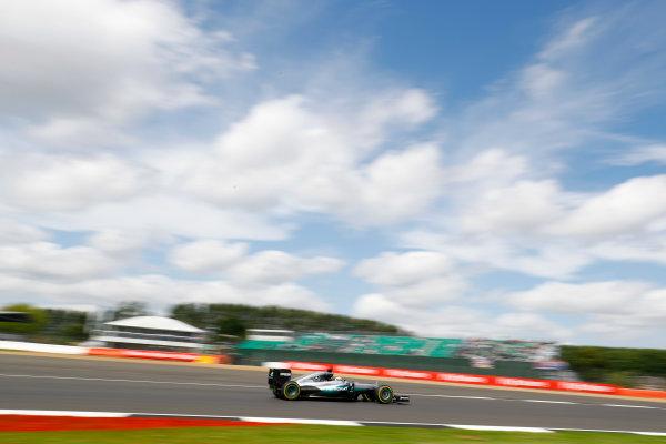 Silverstone, Northamptonshire, UK Friday 08 July 2016. Lewis Hamilton, Mercedes F1 W07 Hybrid.  World Copyright: Steven Tee/LAT Photographic ref: Digital Image _H7I6525