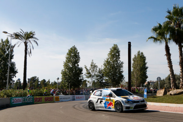 2013 FIA World Rally Championship Round 12 - Rally de Espana 24-27/10 2013. Jari-Matti Latvala, VW, action  Worldwide Copyright: McKlein/LAT