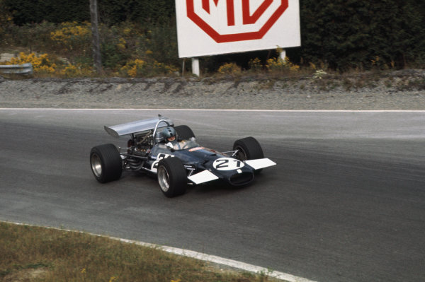 1969 Canadian Grand Prix.  Mosport, Canada. 18-20th September 1969.  Piers Courage, Brabham BT26A Ford.  Ref: 69CAN06. World Copyright: LAT Photographic
