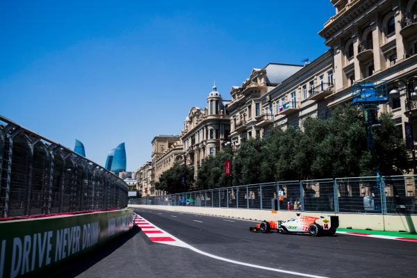 2017 FIA Formula 2 Round 4. Baku City Circuit, Baku, Azerbaijan. Friday 23 June 2017. Sergio Sette Camara (BRA, MP Motorsport)  Photo: Zak Mauger/FIA Formula 2. ref: Digital Image _54I9387