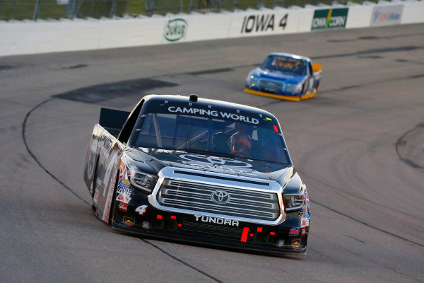 NASCAR Camping World Truck Series M&M?s 200 presented by Casey?s General Store Iowa Speedway, Newton, IA USA Friday 23 June 2017 Christopher Bell, Toyota Toyota Tundra World Copyright: Russell LaBounty LAT Images