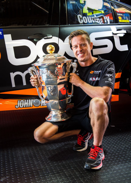 2017 Supercars Championship Round 6.  Darwin Triple Crown, Hidden Valley Raceway, Northern Territory, Australia. Friday June 16th to Sunday June 18th 2017. James Courtney driver of the #22 Mobil 1 HSV Racing Holden Commodore VF. World Copyright: Daniel Kalisz/LAT Images Ref: Digital Image 160617_VASCR6_DKIMG_0091.JPG