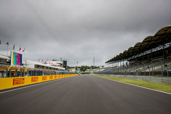 2017 FIA Formula 2 Round 7. Hungaroring, Budapest, Hungary. Thursday 27 July 2017. A view of the track. Photo: Zak Mauger/FIA Formula 2. ref: Digital Image _56I0061