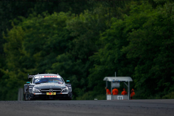 2017 DTM Round 3 Hungaroring, Budapest, Hungary. Friday 16 June 2017. Robert Wickens, Mercedes-AMG Team HWA, Mercedes-AMG C63 DTM World Copyright: Alexander Trienitz/LAT Images ref: Digital Image 2017-DTM-R3-HUN-AT1-0311