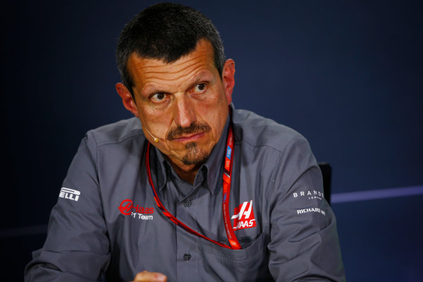 Circuit Gilles Villeneuve, Montreal, Canada. Friday 09 June 2017. Guenther Steiner, Team Principal, Haas F1Guenther Steiner, Team Principal, Haas F1, in the Team Principals Press Conference. World Copyright: Andy Hone/LAT Images ref: Digital Image _ONZ0649