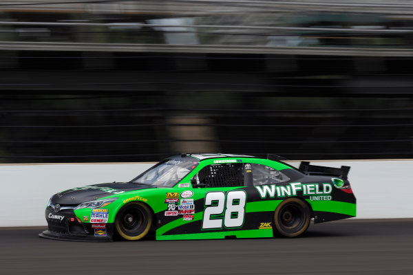 NASCAR XFINITY Series Lilly Diabetes 250 Indianapolis Motor Speedway, Indianapolis, IN USA Friday 21 July 2017 Dakoda Armstrong, WinField United Toyota Camry World Copyright: Michael L. Levitt LAT Images