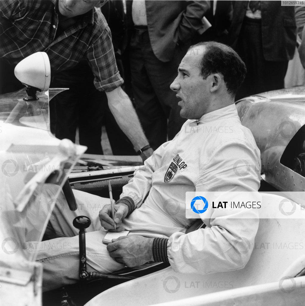 1960 Sports Car Testing.