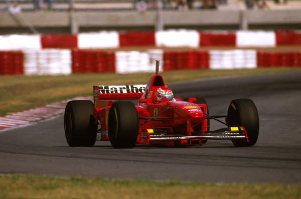 Buenos Aires, Argentina.11-13 APRIL 1997.Eddie Irvine (Ferrari F310B) 2nd position.Ref-97 ARG 01.World Copyright - LAT Photographic