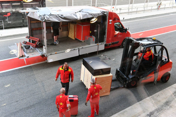DHL with Ferrari freight