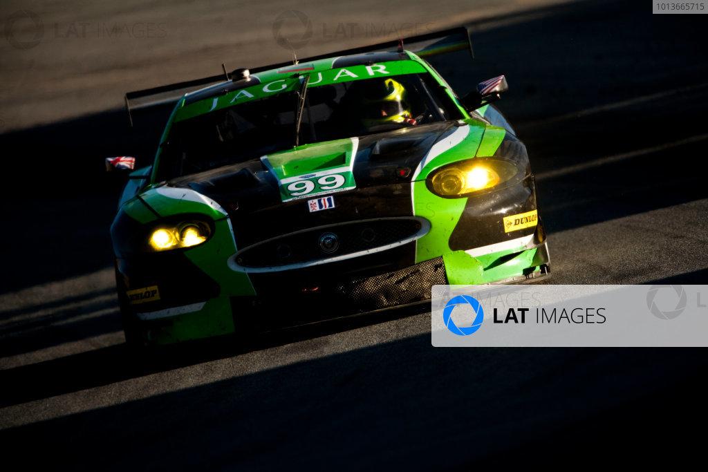American Le Mans Series. Laguna Seca, Monterey, California. 15th - 17th September 2011. Bruno Junqueira / Kenny Wilden, Jaguar RSR, Jaguar XKR. Action. Photo: Drew Gibson/LAT Photographic. ref: Digital Image _Y2Z6793
