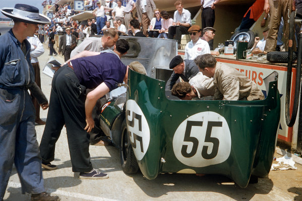 Le Mans, France. 22-23 June 1957.