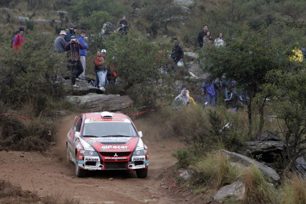 2007 FIA World Rally Champs. Round 6Rally Argentina, 3 May - 6 May Fredirico Villagra, Mitsubishi, actionWorld Copyright: McKlein/LAT
