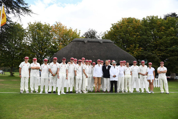 Goodwood Revival Cricket Match Teams