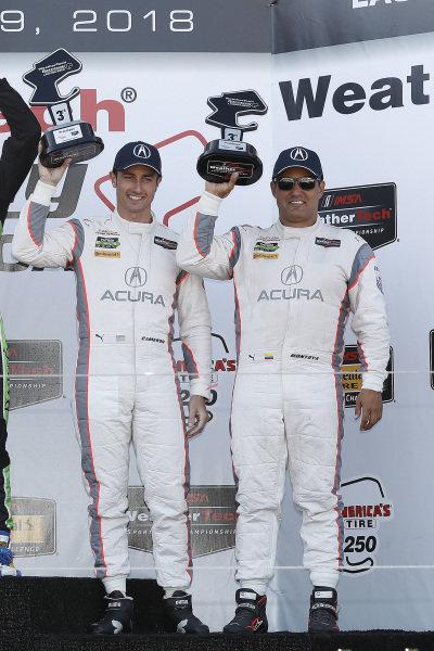 #6 Acura Team Penske Acura DPi, P: Dane Cameron, Juan Pablo Montoya, podium