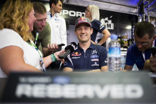 Sébastien Ogier, M-Sport Ford, Ford Fiesta WRC 2018, fends the questions over his next contract in WRC