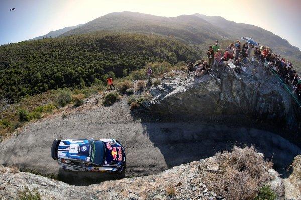 Sebastien Ogier (FRA) / Julien Ingrassia (FRA), Volkswagen Motorsport Polo R WRC at FIA World Rally Championship, Rd10, Rally Tour De Corse, Day Three, Ajaccio, Corsica, France, 2 October 2016.